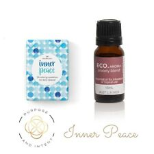 Positive Affirmation Card and Anxiety Aromatherapy Essential Oils Blend Bundle