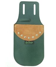 MILD GREEN LEATHER POCKET ARROW QUIVER ARCHERY PRODUCTS PQ-5333 MG