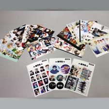BTS Bangtan Boys Postcard 12 Sheets & 3 Stickers Photo Picture Korean KPOP Idols