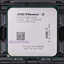 AMD Phenom II X4 955 HDZ955FBK4DGM CPU Processor 4000 MHz 3.2 GHz Socket AM3