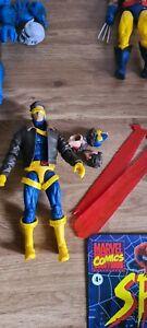 """Marvel Legends CYCLOPS 6"""" action figure, hasbro x-men 3 pack (complete)"""