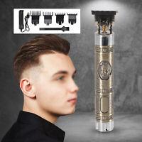 Mens Hair Clippers Electric Trimmer Shaver Kit Hair Cutter Home Hair Cut Set