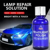 9H Auto Car Headlight Len Restorer Repair Liquid Polish Cleaning Tool A+++
