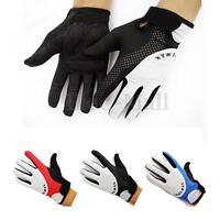 Cycling Bicycle Bike Racing Motorcycle Gloves Bike Full Finger Gel Sports M-XL