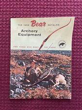 1959 Bear Archery Equipment Catalog - Original