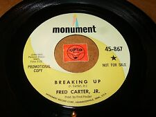 FRED CARTER JR - BREAKING UP - WHERE HAPPINESS ENDS   / LISTEN - TEEN POPCORN