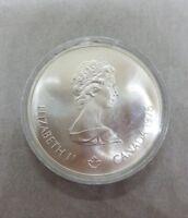 Silver Canada 1976 Elizabeth II Montreal 1976 Olympiade XXI Olympiad 5 Dollars