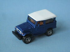 Matchbox Toyota Land Cruiser 1968 Dark Blue Body Toy Model Car in BP 65mm Long
