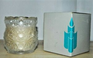 "NIB  Partylite Jar Candle ALLURE 3"" Candle and Decorative Candle Holder Retired"