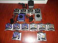 1 Nintendo GameCube Launch Edition Jet Black Console + 4 new controllers, cables