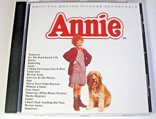 Annie - Original Soundtrack - NEW CD Album   tomorrow, It's The hard knock life
