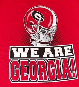 Georgia Bulldogs WE ARE GEORGIA  T-Shirt New Adult