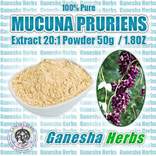 100% PURE MUCUNA PRURIENS 20:1 EXTRACT POWDER  L-DOPA NATURAL DOPAMINE - 1.8 oz