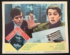 MASCULINE FEMININE Jean Luc Godard French New Wave 1966 Lobby Card Criterion 4