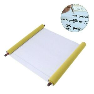 Reusable Chinese Magic Cloth Water Paper Calligraphy Fabric Notebook 1.5m