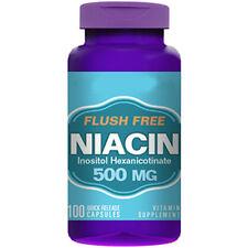 Flush Free Niacin - 500mg - 100 Capsules