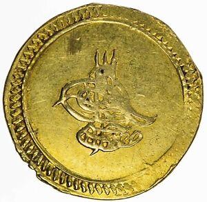 Turkey Ottomans Mustafa IV 1807-1808 AV Findik Qustantaniyah AH1222//1 KM-546 AU