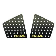 C Pillar Window Glass Sports Plate Molding Yellow Logo For CHEVY 08-16 Cruze 4dr