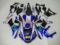 Fairings Kit For 15-16 Yamaha YZF R1 46 Monster Valentino Rossi Movistar Moto GP