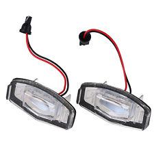 2x LED License Plate Lamp Light for Honda Civic VII4/5D 01-05/City 4D 2003-2009
