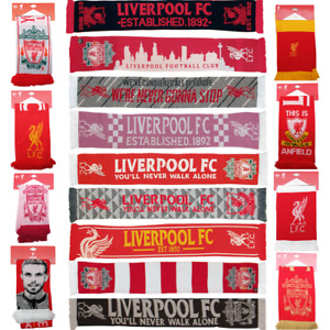 Liverpool FC Official Scarves YNWA Scarf Walk On Walk On Champions Great Gift