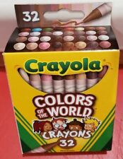 Crayola Crayons Colors Of The World Multicultural 32 Count New Free Shipping