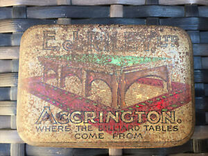Vintage EJ Riley Ltd, Of Accrington, Cue Tips And Spacers In A Tin