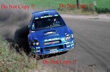 Richard Burns Subaru Impreza WRC2001 Finlandia Rally 2001 fotografía
