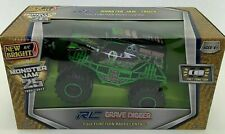 New Bright Monster Jam RC Grave Digger 1:24 Scale 25th anniversary new sealed
