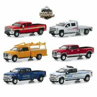 Greenlight 46020 Dually Drivers Series 2 Complete Set of 6 Diecast Trucks 1:64