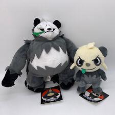 """2X Pangoro Pancham Plush Soft Toy Doll Stuffed Animal Teddy 11"""""""