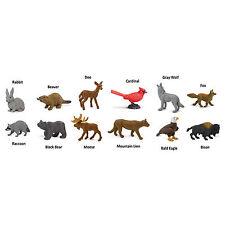 Nature Toob Mini Figures Safari Ltd NEW Toys Educational Kids Animals Adult
