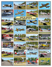 VANS RV AIRCRAFT POSTER FROM BELFAST MAINE AIRPORT FLY-In 2016