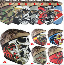 Neoprene Full Face Mask Motorbike Biker Ski Paintball Snowboard Sports Balaclava