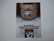 advertising Pubblicità 1971 LAVATRICE REX BIODINAMICA DL 5