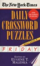 The New York Times Daily Crossword Puzzles (Friday) Vol. 1 by New York Times...