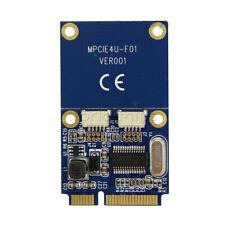 Pcie Pci-E to Usb Adapter mPcie to 5 Pin 2 Ports Dual Usb2.0 Mini Converter Card