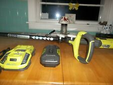 RYOBI 4OV EXPAND-IT STRING WEED TRIMMER/EDGER RY4OO2 CHARGER, BATTERY,STRING
