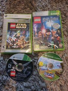 Xbox 360 Games Lego And Sonic Bundle