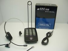 CallTel T100 Mono Headset Phone for Office SOHO, Call Centers & Customer Service