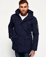 New Mens Superdry Everest Parka Jacket Navy