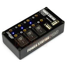 MUCH MORE Power Station Pro Multi Distributor Black USB Charging Port #MM-PSPK