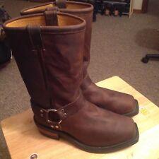 "Chippewa Harness Boots 97868 12"" Snip Toe Made In USA,Size 10 E,W"