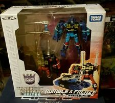 Authentic Takara Tomy Transformers United UN20 Rumble and Frenzy(US Seller)