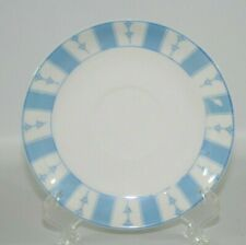 "Noritake ""The Yale"" Blue & White 5 1/2"" Replacement Saucer"