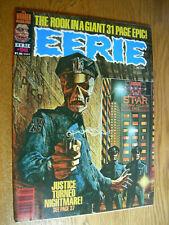 Eerie Magazine #98 NM Justice turned nightmare Warren