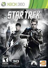 Star Trek [Xbox 360, Science Fiction Action Adventure, Spock Kirk Co-op] NEW