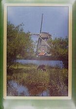 CPA Holland Kinderdijk Windmill Moulin a Vent Windmühle Molino Wiatrak Mill w217