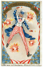 Fourth 4th of July 1907 Uncle Sam