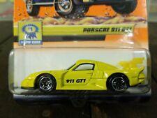Matchbox #45 Show Cars Porsche 911 GT1 Yellow 2000